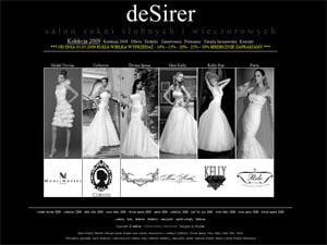 Desirer - strona www