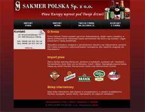 Sakmer - strona www