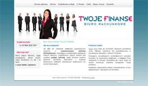BR Twoje Finanse - strona www
