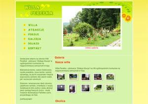 Willa Perełka - strona www